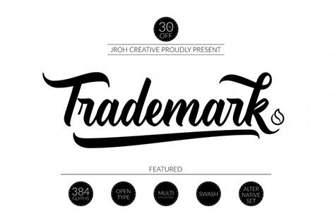 trademark font