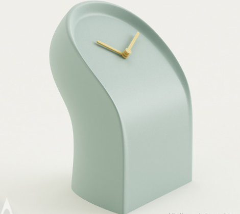 Osvaldo Table clock by MrSmith Studio