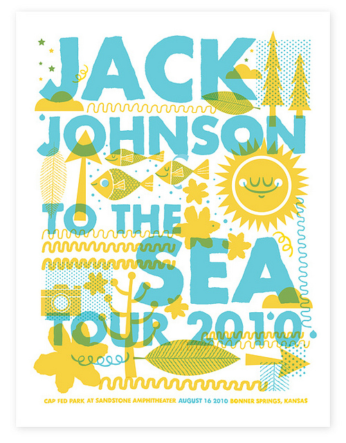 Jack Johnson Poster (by Tad Carpenter)Because I love Jack Johnson - AND this poster