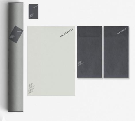 Ian Bennett Architecture Branding by Joel Derksen