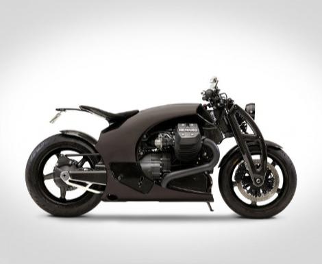 Renard GT Motorcycle by Andres Uibomäe