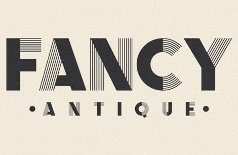 fancy antique display