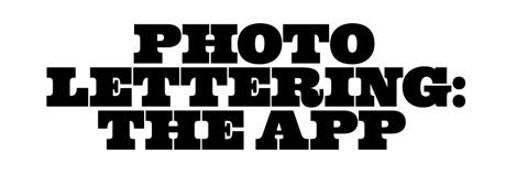 photo lettering app