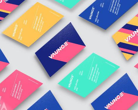 VAUNCE Trampoline Park Brand Identity Design by PlusX and Vaunce