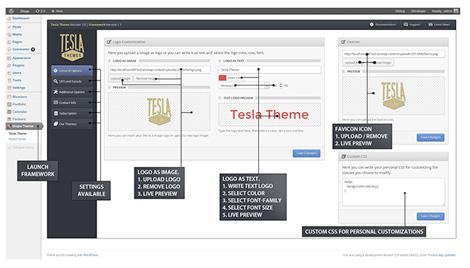 Tesla themes on grainedit.com
