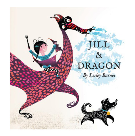 jill and dragon - lesley barnes