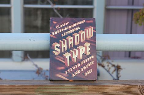 Shadow Type Book via grain edit