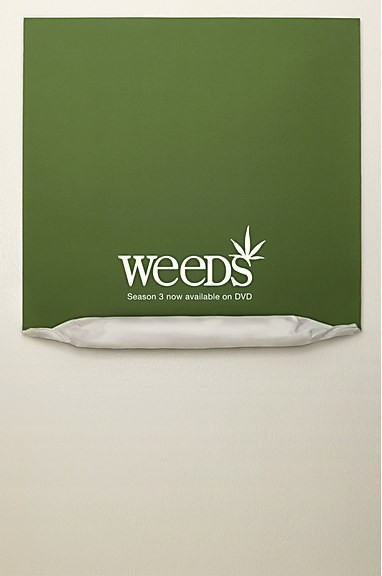 Who else is watching the latest season of Weeds?This poster is pretty smart.