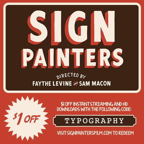 sign painters film on grainedit.com